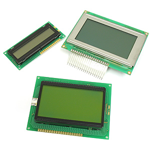 Assortment of 3 LCD Modules