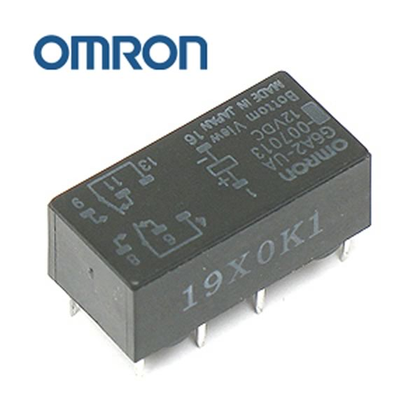 Omron G6A2-UA 12VDC DPDT Relay