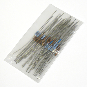 (Asst of 50) 1% Precision Resistor Assortment