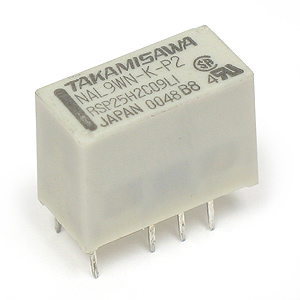 SALE -  (Pkg 10) NAL9WN-K-P2 9VDC Latching Relay