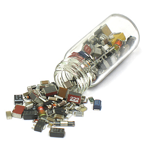 Vial of Over 250 SMD Components