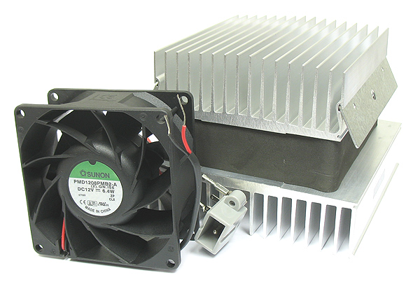 Super Cooler! Peltier Heat Sink & Fan