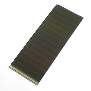9V 60mA Amorphous Silicon Glass Solar Panel (5.8