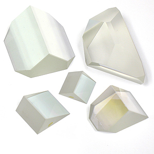Precision Optical Glass Prism Assortment