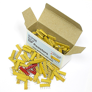 Box of SIP Resistors