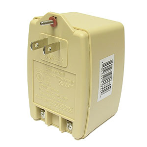 SALE - 16.5VAC 40VA Universal Wall Transformer