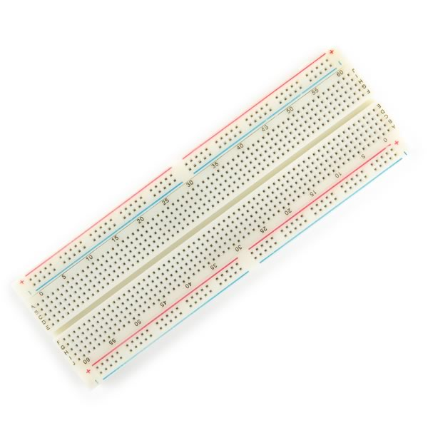 Large Universal Breadboard - 830 Contacts