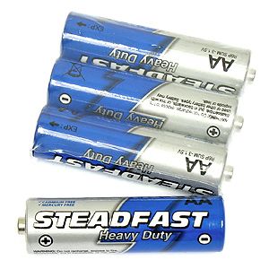 4 Pack of AA Batteries
