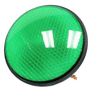 Giant Green Traffic Light