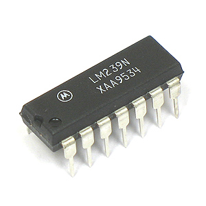 Motorola LM239N Single Supply Quad Comparator (Pkg of 4)