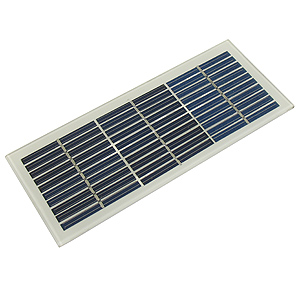 Compact Solar Panel for Charging 12V Batteries