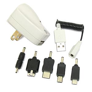 (Pkg 2) Compact  Charger for iPhone®, iPad®, iPod®, Cell Phones
