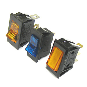 Lighted Rocker Switch Assortment of 3
