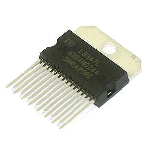 (Pkg 25) L9947L Quad Half-Bridge & Single High-Side Driver