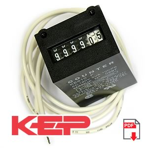 120VAC 6 Digit Impulse Counter KE610F