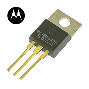 (Pkg of 5) MC78M24CT +24VDC 0.5A Voltage Regulators