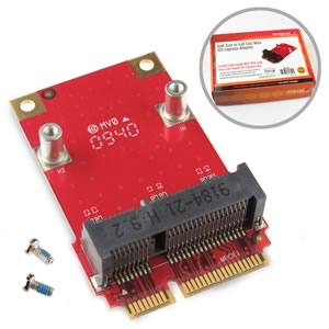 CLEARANCE! Startech.com Half Size to Full Size Mini PCI Express Adapter