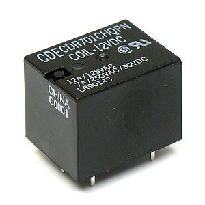 Powerful 12VDC SPDT Relay