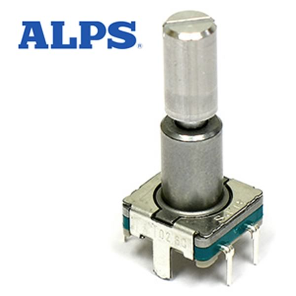 Electronic Goldmine G20056A (Pkg 10) ALPS Rotary Encoder with Push Switch
