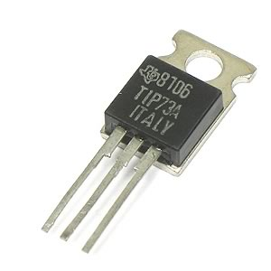 Pkg of 3 TIP73A NPN 60V 5Amp Power Transistors