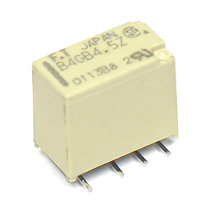 (Pkg 5) B4GB4.5Z SMD 4.5VDC Single Coil Latching Relay