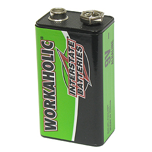 Workaholic Alkaline 9V Battery