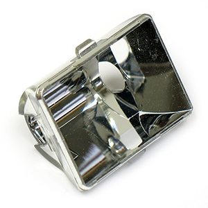 Bright Chrome Plated Reflector