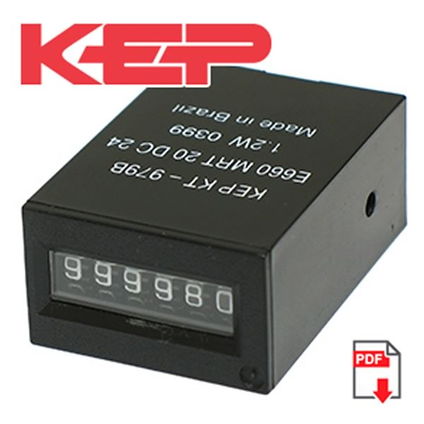 KEP KT-979B 6 Digit Impulse Counter