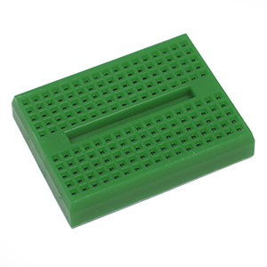 SALE! Green Mini Breadboard