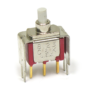 C&K 8125 Snap Action Momentary Pushbutton Switch