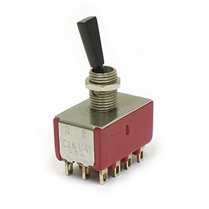 C&K U41 4PDT MINIATURE TOGGLE Switch