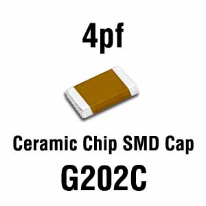 4pF SMD Capacitor (Pkg of 20)