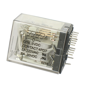 MASTER ELECTRONIC CONTROLS GMP-4PDT-5D-F 4PDT Relay