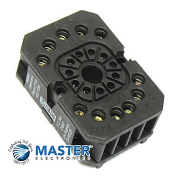Heavy Duty 11 Pin Relay Socket