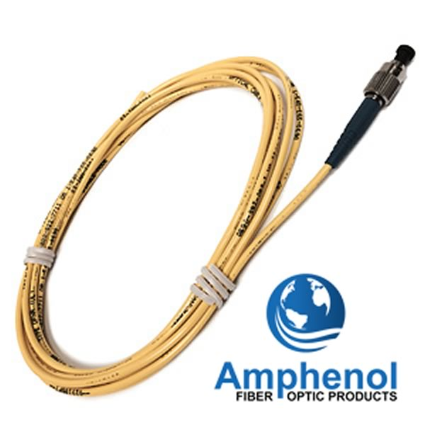 (Pkg 5) Amphenol Fiber Optic Cable Type 942-30522-10003