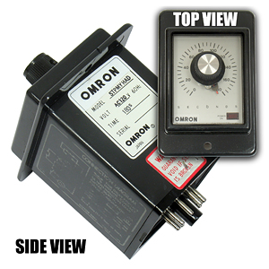 OMRON STPMYHAD 120VAC 60HZ Time Delay Relay