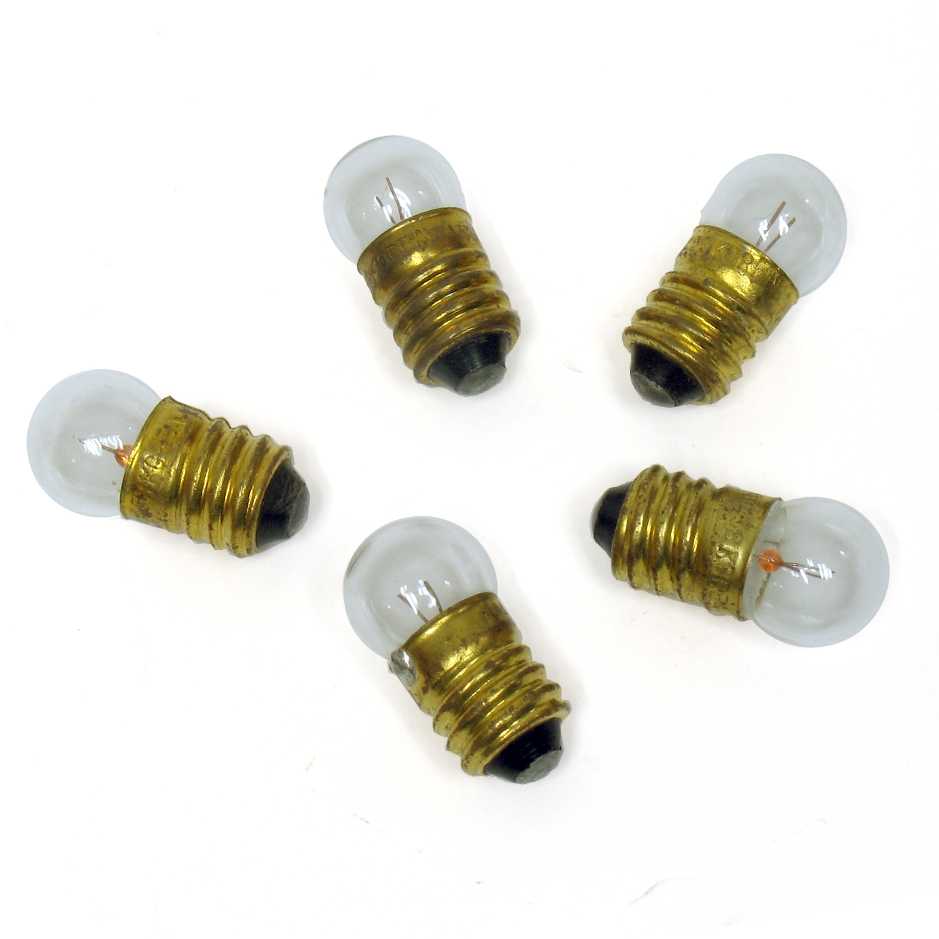 Electronic Goldmine Package Of 5 Small Screw Base 458