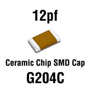 12pF SMD Capacitor (Pkg of 20)