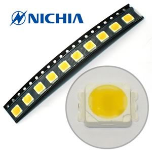 (Pkg 10) Nichia NS6L183T-H3 Powerful Warm White SMD LED