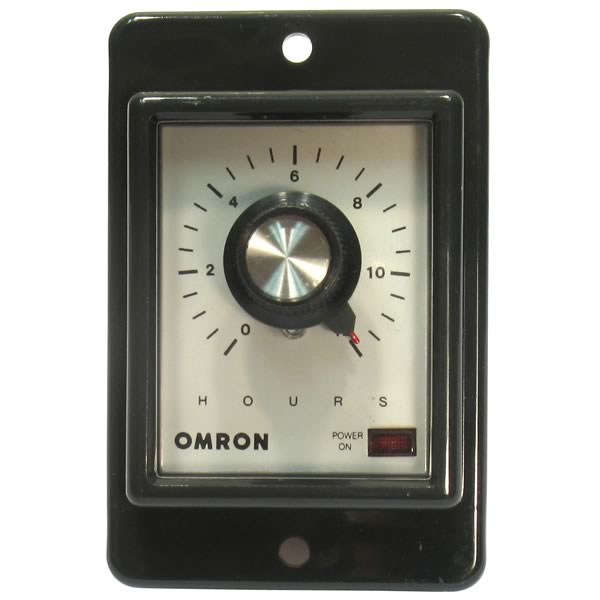 OMRON 120VAC Adjustable Time Delay Relay(12Hrs)