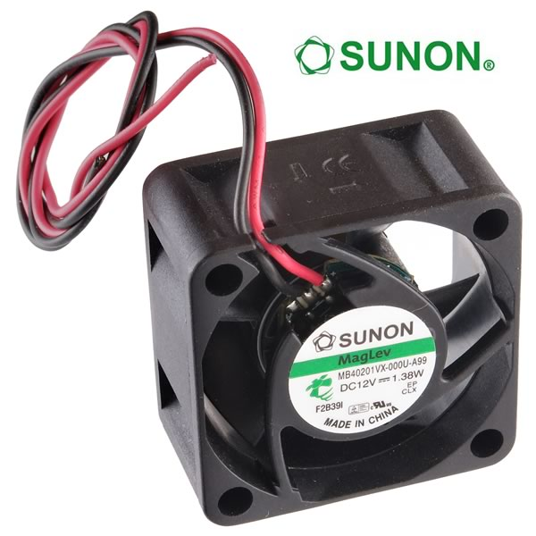 Sunon MB40201VX 12VDC 40mm Fan