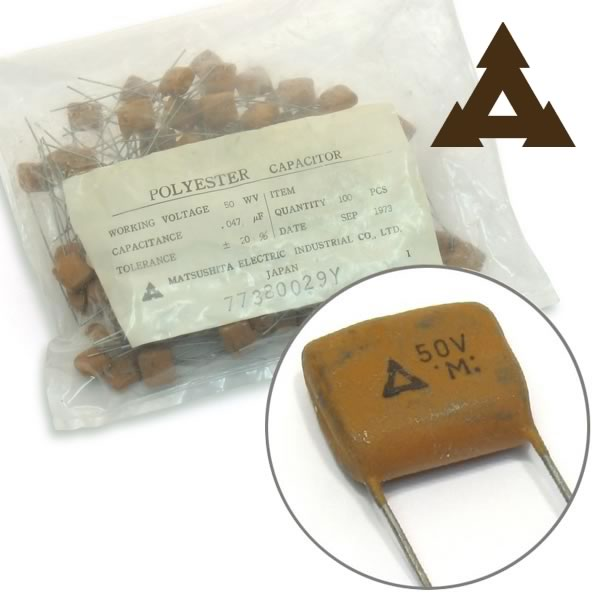 (Factory Bag of 100) 0.047uF 50V Polyester Capacitor