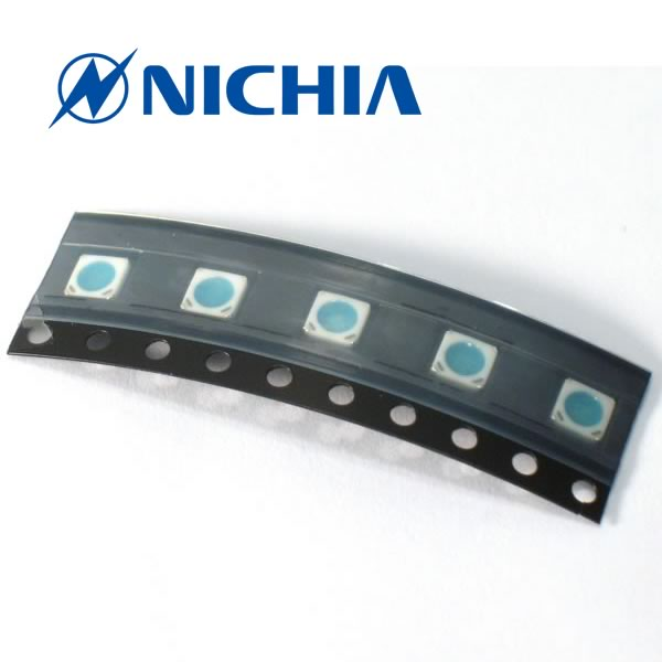 (Pkg 12) Nichia NFSB036BT Super Power  Blue SMD LED