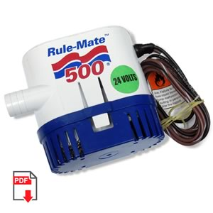 Rule-Mate 500 24VDC Bilge Pump