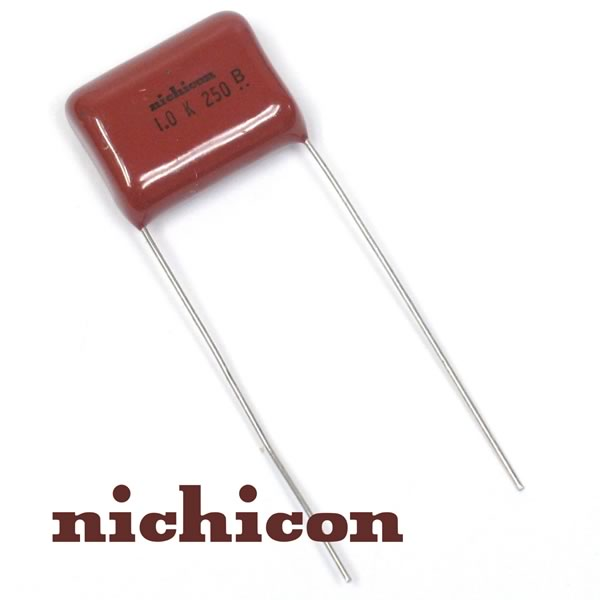 (Bag 200) Nichicon Super Compact 1uF, 250V Film Caps