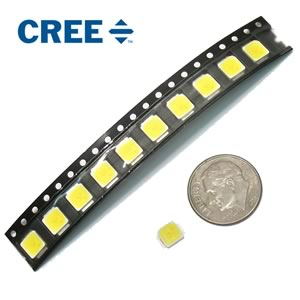CLEARANCE! (Pkg 10) Cree® Super Power MX-3 Cool White SMD LED