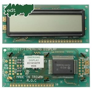 (Pkg 2) Emerging Display EC16100TR LCD Display Module