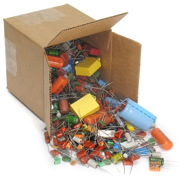 Box of Capacitors - 4