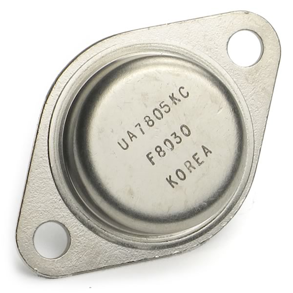 UA7805KC Steel Case 5V Regulator