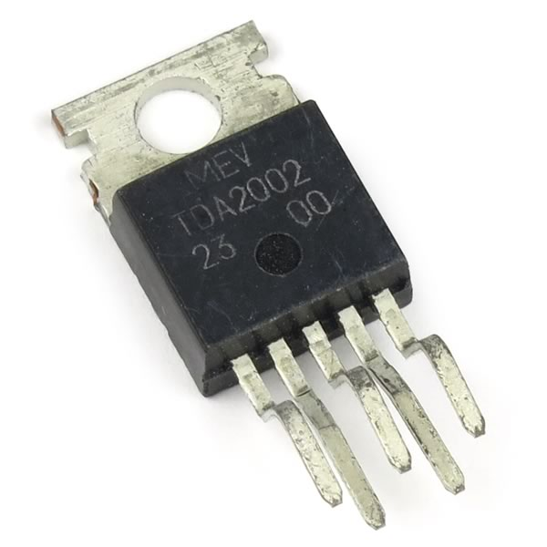 (Pkg 2) TDA2002 8W Car Radio Amplifier IC